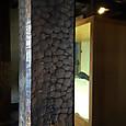 2016年11月4日 松本城「釿(ちょうな)跡のある柱」