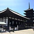 26_興福寺_東金堂と五重塔