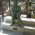 下呂温泉 チャップリン像