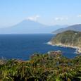 恋人岬からの富士山